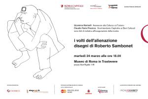 I volti dell'Alienazione. Inaugurazione a Roma