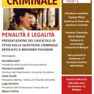 Penalità e legalità
