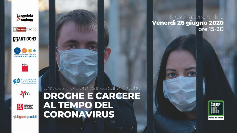 Droghe e carcere al tempo del coronavirus