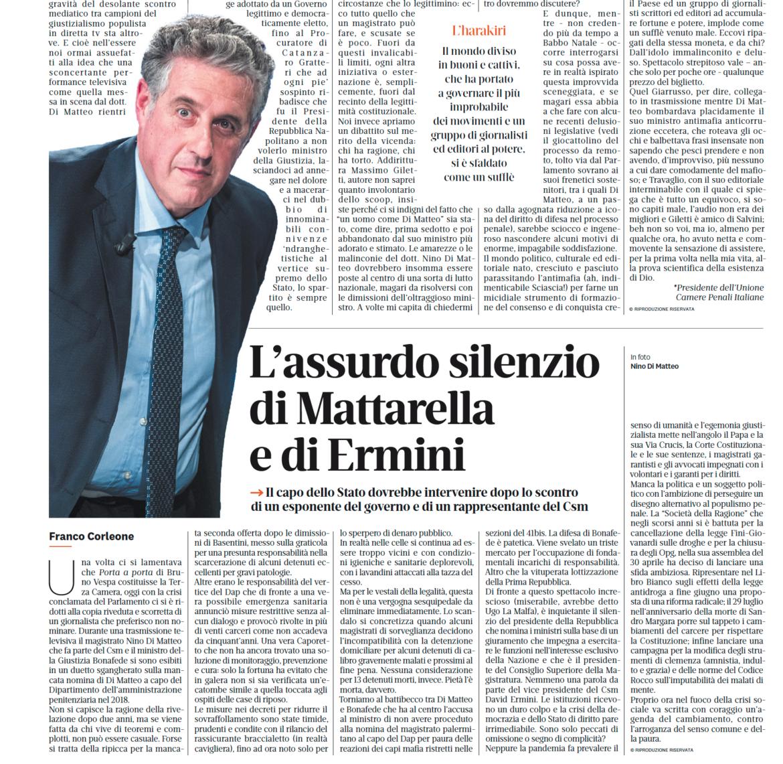 Articolo Corleone il Riformista
