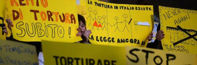 Tortura: l'Italia non può più aspettare